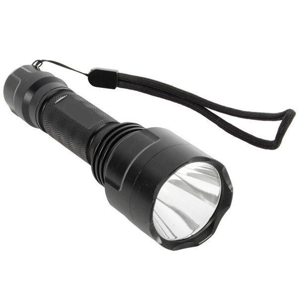 1 pc blck 1200lm xm-l q5 c8 led 5-modo lanterna tocha bicicleta luz f00151 cadr