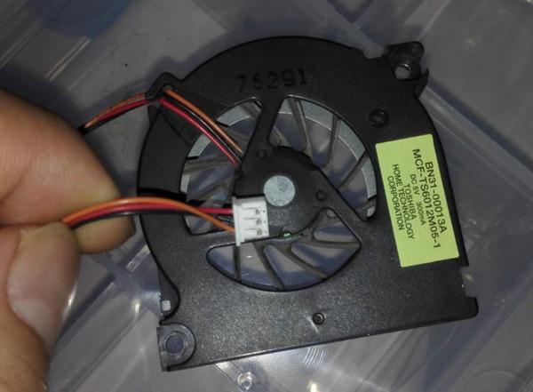 Novo e original Laptop Cooler Ventilador Para Toshiba Satellite M10 M30 M30 M35 MCF-TS6012M05-1 GDM610000085 Dc5v 0.3a Bn31-00013a