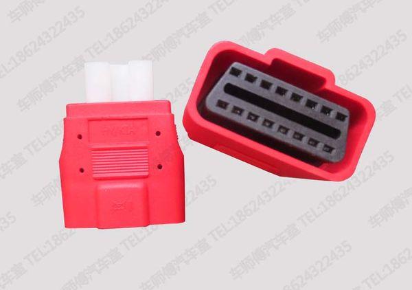 V30 for Hyund.. 10 Pins OBD-II Adaptor for AutoBoss KT300 10 OBD II Connector OBDII Adapter OBD V30 10 pins OBD2 Connecter