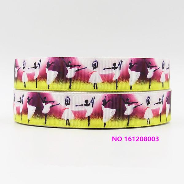 cinta 7/8 pulgadas 22 mm 161208003 de dibujos animados impresa grosgrain cinta 50yds / roll envío gratis para diadema de pelo lazo