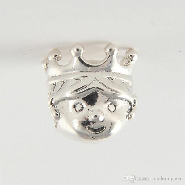 El príncipe encantos perlas S925 plata esterlina encaja para las pulseras de pandora envío gratis H9
