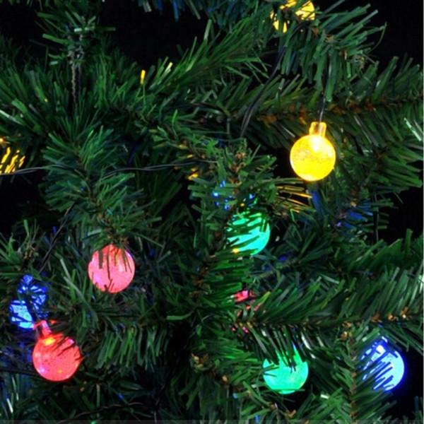 as luzes feericamente solares IP44 G45 conduziram as ampolas 2.5m 5m 10m conduziram o jardim da fada da lâmpada do casamento da luz de Natal