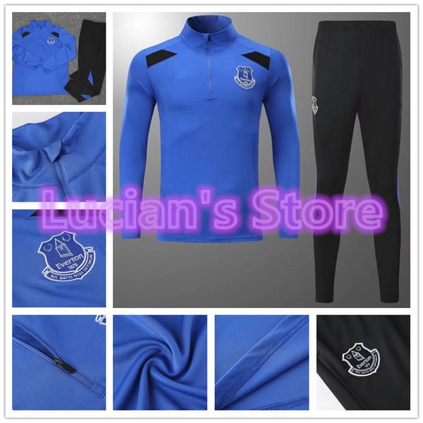 best service 9d1ee ad687 Best 2017 New Everton F.C. Soccer Training Suits Uniforms Shirts Football  Camiseta De Futbol Wayne Rooney Keane Winter Survetement Tracksuits Under  ...