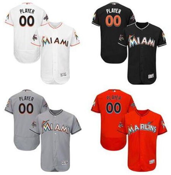 new product 7d81f c3be3 Online Cheap Miami Marlins Mlb Jersey Customized Dan Straily Dee Gordon Jt  Realmuto Aj Ramos Sports Throwback Baseball Jerseys Cheap Fashion Men Retro  ...