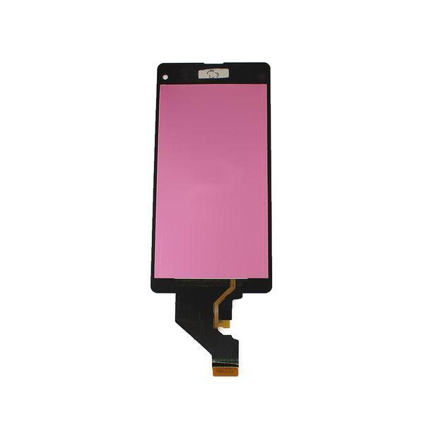Per Sony Xperia Z1 compact M51w z1 mini D5503 LCD Display Touch Screen Digitizer Full Assembly Spedizione gratuita