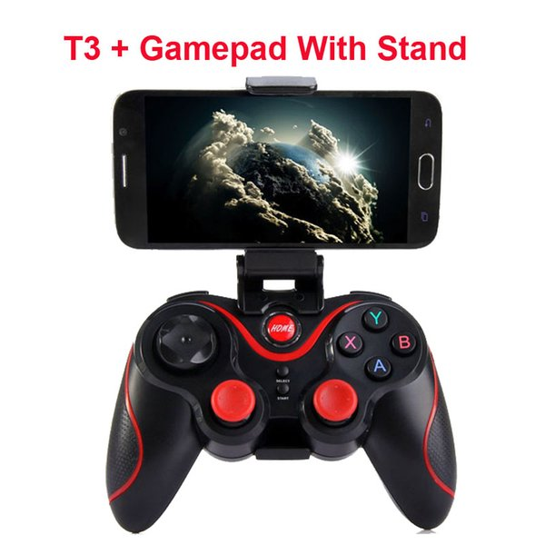 2018 Hot Terios T-3 T3 Android Wireless Bluetooth Gamepad Gaming Remote Controller Joystick BT 3.0 for Android Smartphone Tablet PC TV Box