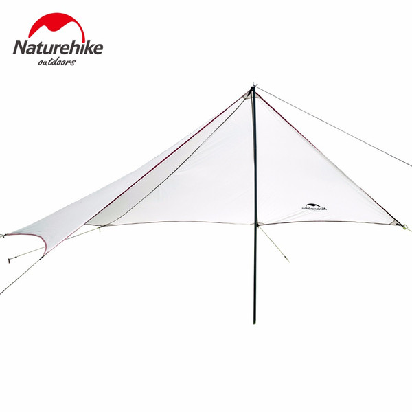 Wholesale- Naturehike Outdoor Event Tent Party Beach Large Camping Tents Shelter Sun Waterproof Lightweight Sunscreen Camping Garden Tent