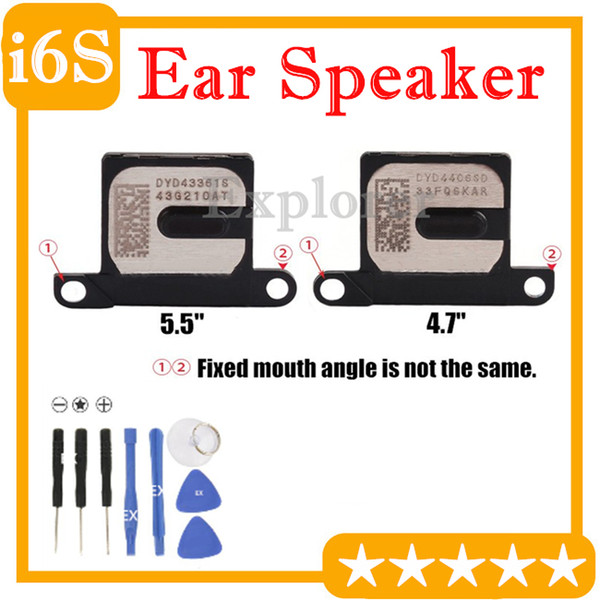 "Original For Iphone 6S 6S Plus 4.7"" 5.5"" inch Ear Piece Speaker Inner Earpiece Call Speaker Receiver Flex Cable Replacement Part"