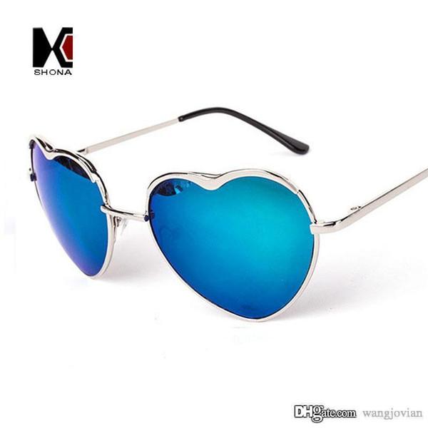 6950445cc2a838 Fashion Love Sunglasses Women Brand Designer Sun Glasses Gafas De Sol Heart  Shape Vintage Lunette de