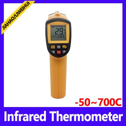 DHL 20PCS New Non-Contact Hand-held LCD IR Laser Infrared Digital Temperature Meter Thermometer Gun GM320/GM700