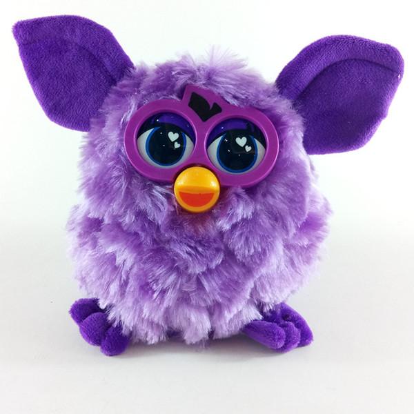 Peluche Furby Wizard Toys CanTalk Record Electronic Pet Toys Owl Toys Mejor regalo para niños 18cm