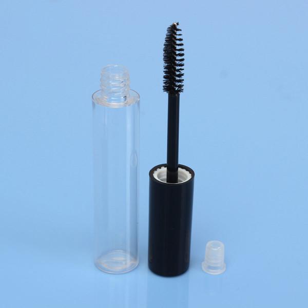 Vuoto tubo di plastica Mascara lip gloss eye liner bottiglie con tappo tappo cosmetico contenitore fai da te bottiglia riutilizzabile 10 ml 100 pezzi in magazzino