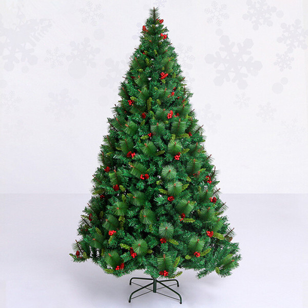 3.0 m / 300cm luxury encryption Christmas tree Christmas red pinecone red berries hotel decorated living room malls