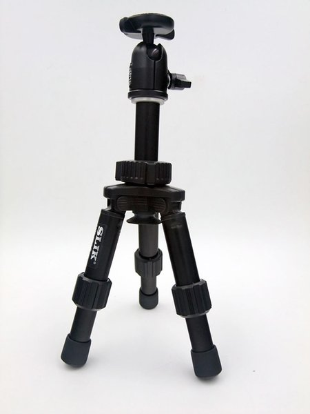 Special Wholesale NEW Camera Tripod Vertical Force MINI-PRO III Desktop three foot primary SLR special card 1PCS