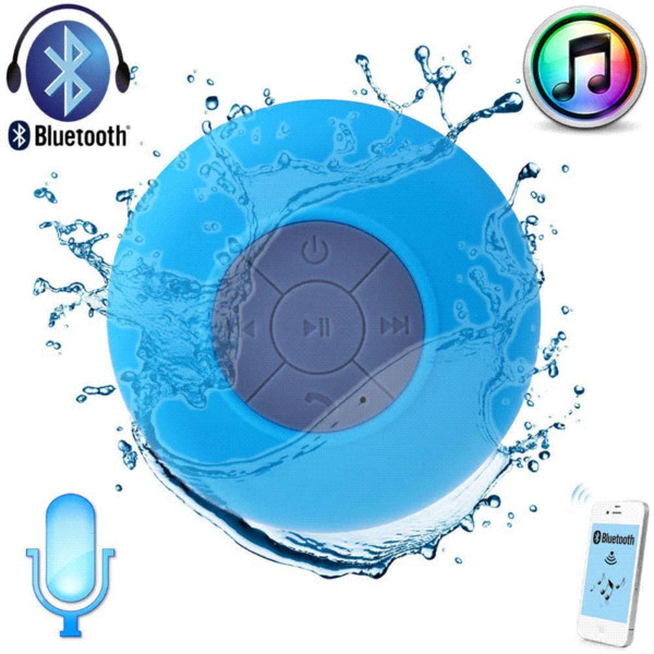 Subwoofer portable waterproof shower Wireless Bluetooth Speaker Car Handsfree receive phone song called suction Mic for iPhone