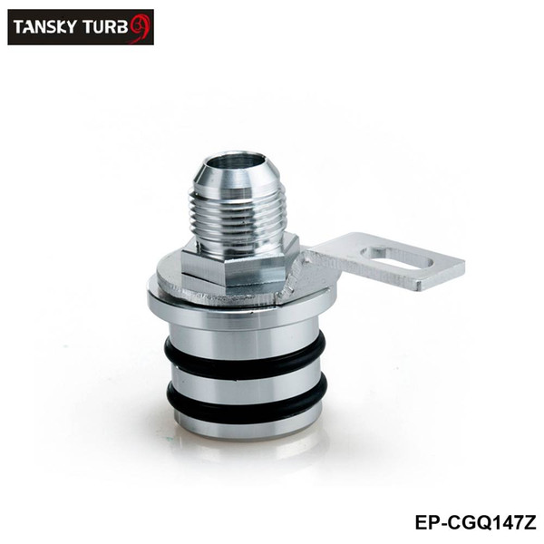 top popular Tansky -Billet Aluminum Block Plug Adapter Breather Fitting to 10AN For Honda Integra B16 B18 Engines only EP-CGQ147Z 2021