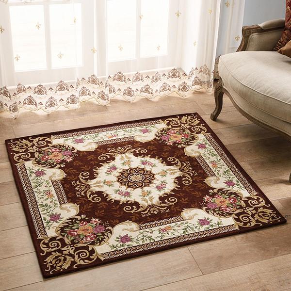 großhandel european style square anti rutsch jacquard teppich für ... - Teppich Fur Wohnzimmer