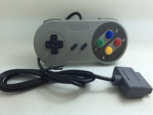 Venda quente Controlador de 16 Bits para Super para Nintendo SNES NES System Control Console Pad