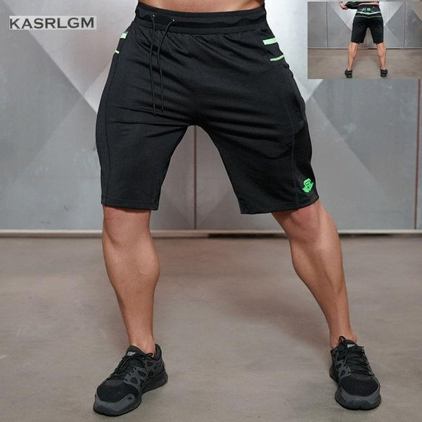 Wholesale- KASRLGM2017Men's shorts in summer Pure cotton shorts breathable shorts quick-drying