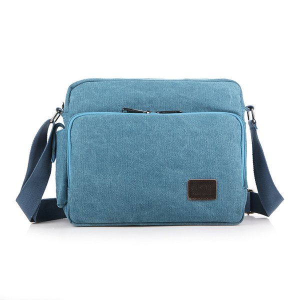 New Canvas Men And Women Arm Bag Mobile Phone Bag Riding A Small Package Wallet boy