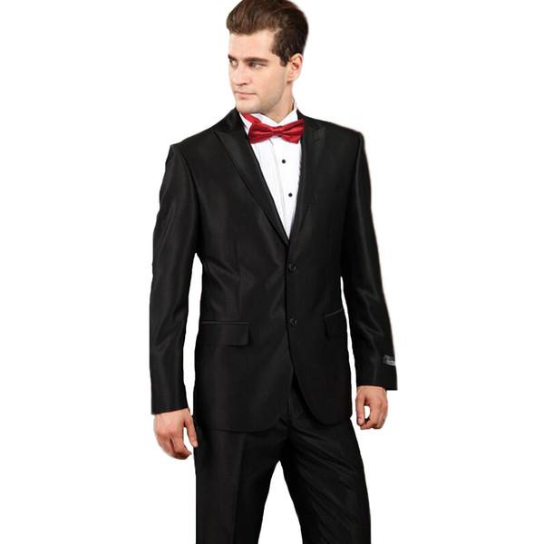 Venta al por mayor-MÁS tamaño S-5XL de los hombres Ropa formal de negocios de alta calidad más tamaño Hombres traje de negocios Terno masculino