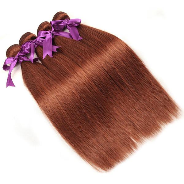 33 # cor peruano tecer pacotes de cabelo humano 12-26 polegada de extensão de cabelo de trama pode ser Restyle 3 ou 4 feixes