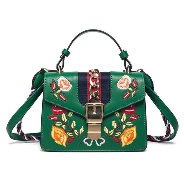 Taschen Handtaschen Frauen berühmte Marken Bestickte Tasche Fransen Crossbody Schulterriemen Tasche Luxus Designer Leder Top-Griff Taschen