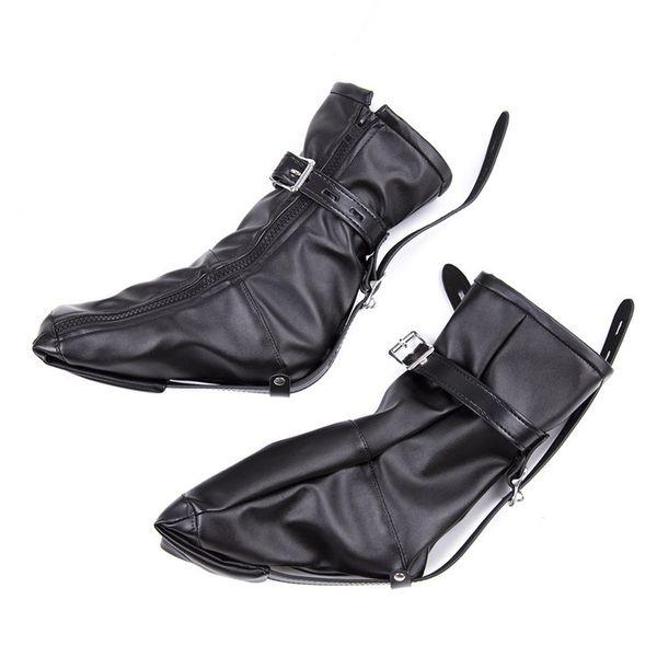 Adult Dog Slave Role Foot Boots Fetish Bondage Feet Cuffs Sex Restraints Kit Sexual Torture Product Couple Erotic Bound Shoes