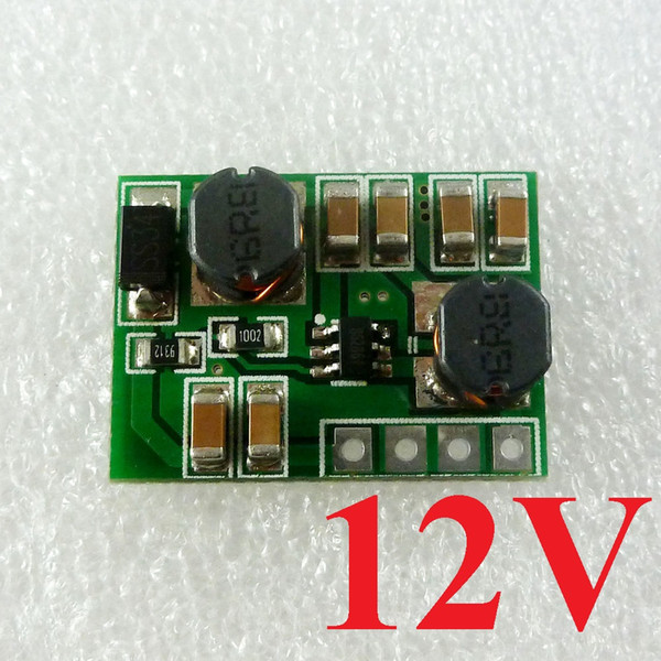 DD2412SA_12V 2-24V to 12V 600MA 2 in 1 Boost-Buck Step UP-Down DC DC Converter Module for Router Relay PLC RS485 Modbus