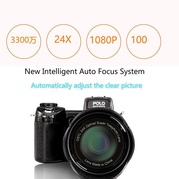 PROTAX POLO SHARPSHOTS HD D7100 Digital Video Camera 33 Million Pixel Camera Digital Professional DSLR Camera 24X Optical Zoom