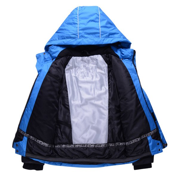Wholesale-2016 New Children's ski pants suit thick warm winter outdoor waterproof windproof ski wear suits boys and girls