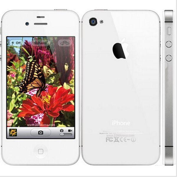 Original apple iphone 4s 16 gb 3g wifi wifi 8mp 1080 p 3.5