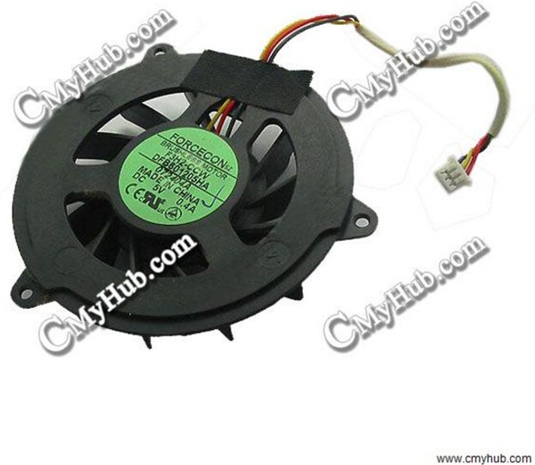 Free Shipping Laptop Ventilator Cooling Fan For HP Pavilion zv5000 Series Forcecon DFB601505HA Cooling Fan