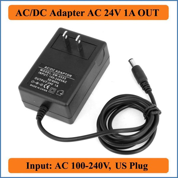 2019 24V 1A US Plug AC DC Adapter AC 100 240V Converter Adapters To DC 24V  Charger Power Supply 1000mA Adapters 5 5mm X 2 1 2 5mm From Ratbiz, $4 77 |