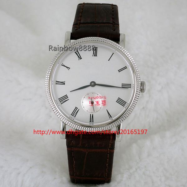 Veste de montre-bracelet mécanique à remontage manuel à la mode pour homme unisexe LP88