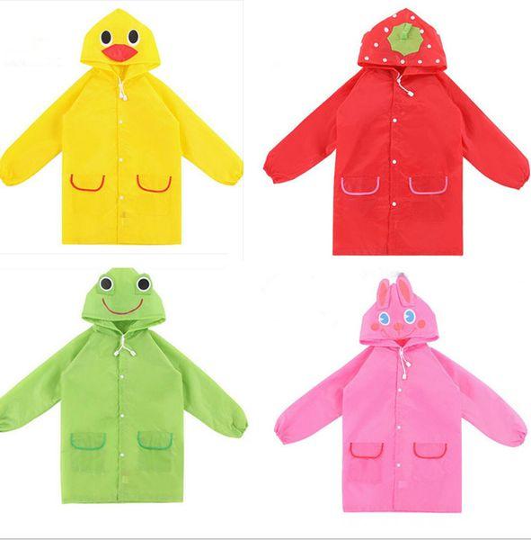 top popular Wholesale Raincoat,High quality children's raincoat,Cartoon raincoat for students of animal model 2019