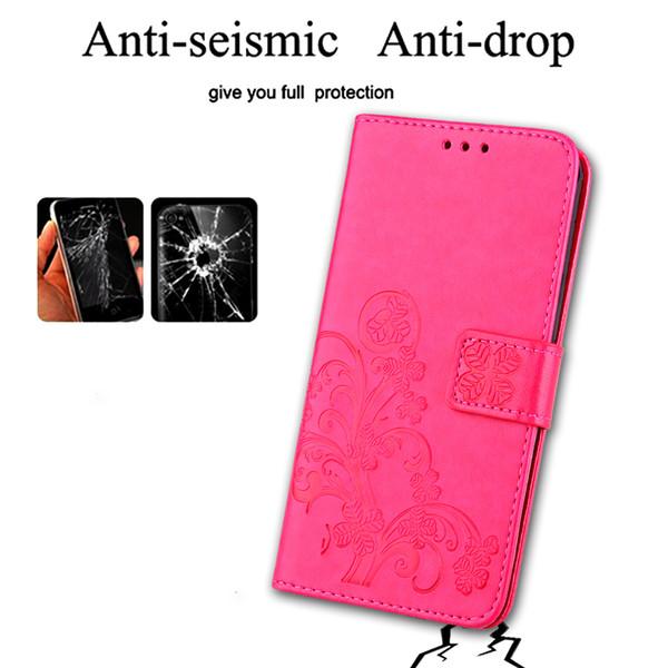 Per iPhone8 TPU del telefono cellulare a quattro ali borsa salvadanaio funzionale magnete magnetica rimovibile custodia protettiva iPhone retro rimovibile