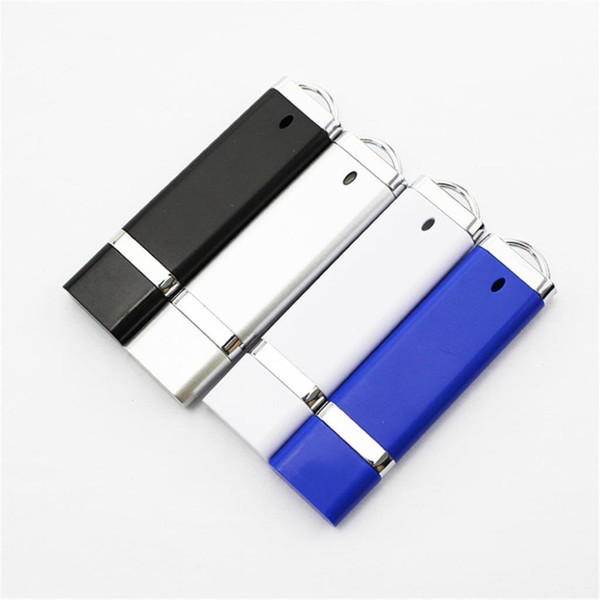 Rectangle 2GB 4GB 8GB 16GB 32GB 64GB 128gb 256gb Office USB 2.0 Flash Drive U Disk Pendrive Memory Stick