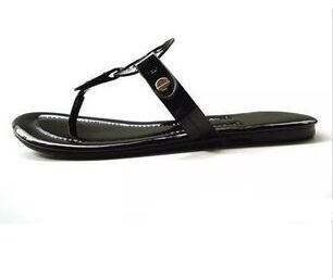 Neue 2017 Sommer Stil Schuhe Frauen Sandalen Mode Marke Hausschuhe Wohnungen Gute Qualität Flip-Flops Sexy Flache Solide frauen Sandale Größe 6-11