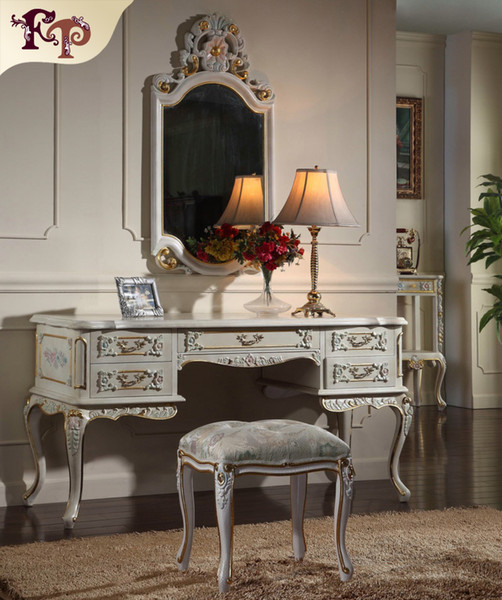2019 French Provincial Furniture Luxury European Royalty Classic Bedroom  Furniture Set Handmade Solid Wood Dressing Table From Fpfurniturecn,  $289.45 ...