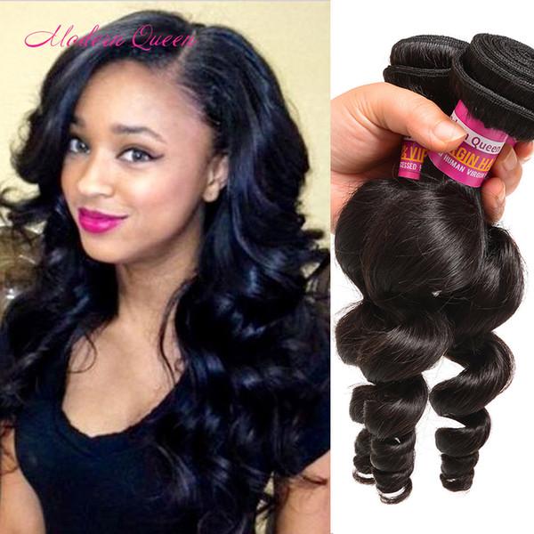Mink Brazilian Human Hair Extensions 7a Grade Brazilian Loose Curl