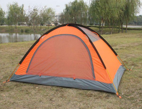 2016 Estate all'aperto Tende Camping Shelters per due persone Doppia barra di alluminio contro l'acqua Sunny Snow Tent DHL Fast Shipping