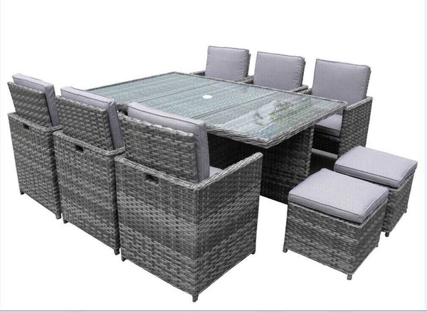 Dining Table Chair Morden Furniture Environmental PE Rattan/wicker Sofa Set, Wicker Furniture/