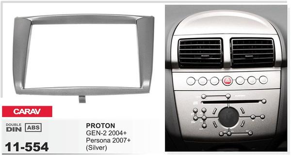 RENAULT MEGANE à partir de 2005 noir simple din Fascia Panneau Avant Montage Kit Paquet