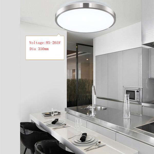 10pcs / LOT LED 천장 조명 Dia 350mm 220V 230V 240V 16W 36W 45W Led 램프 현대 거실 천장 조명