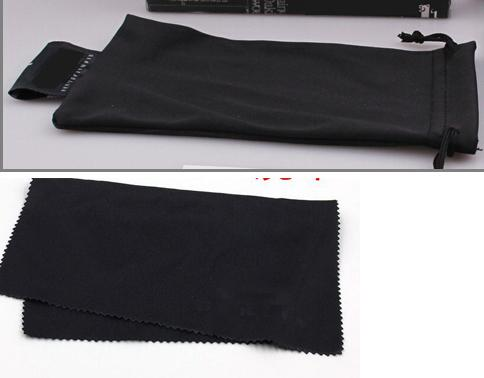 best selling SUMMER BRAND NEW sunglasses bags black bag+CLOTH free shipping