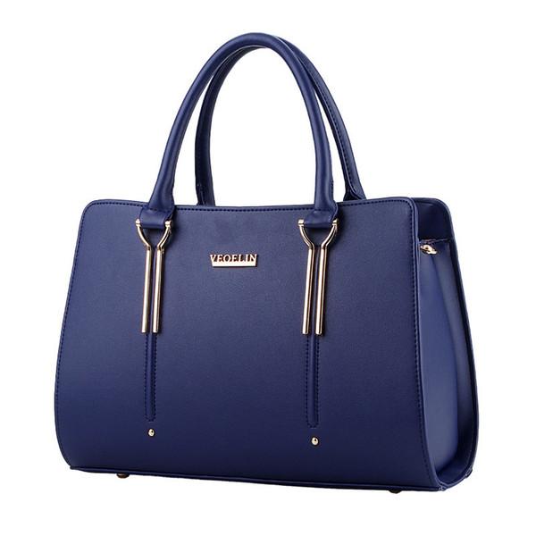 2017 High Quality Leather Handbags Women Fashion Shoulder Bag Crossbody Messenger Bags Famous Brand Designer Purse Lady Casual Tote Hand Bag