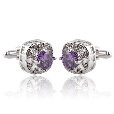 round purple