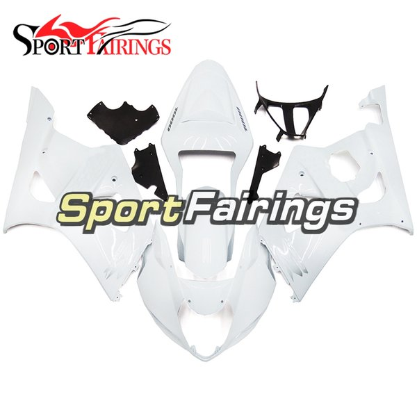 Full Fairing Kit For Suzuki GSXR1000 GSX-R1000 K3 03 04 2003 2004 Injection ABS Plastic Motorcycle Body Kit Bodywork Cowling Pearl White New