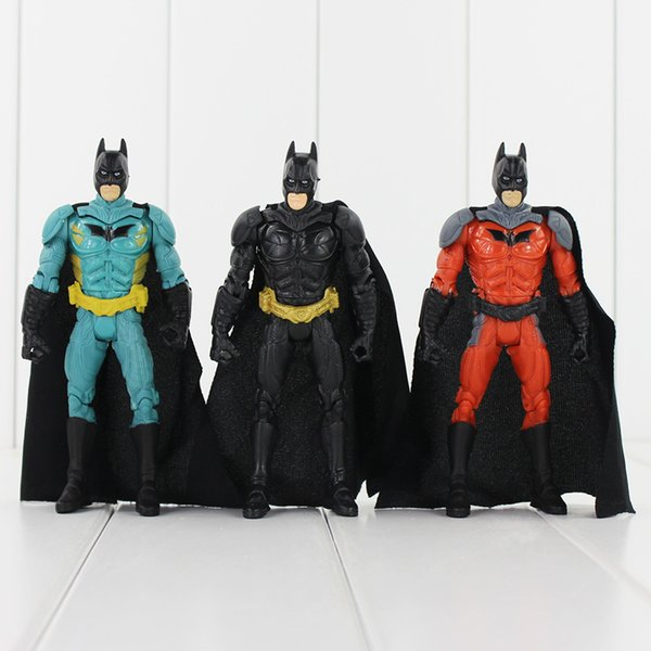 Super Hero Batman 3 Styles 13.5cm PVC Action Figure Toy Collection Model toy free shipping retail